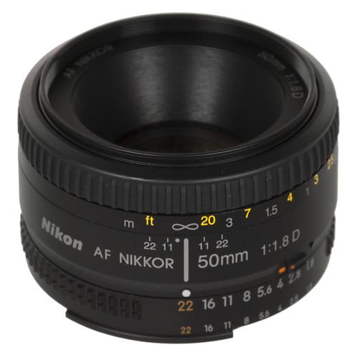 Фото - Объектив NIKON 50mm f/1.8 AF Nikkor, Nikon F [jaa013da] объектив nikon 50mm f 1 4d af