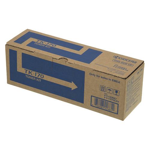 Картридж KYOCERA TK-170, черный t2 tc k170 тонер картридж для kyocera fs 1320d 1370dn ecosys p2135d p2135dn