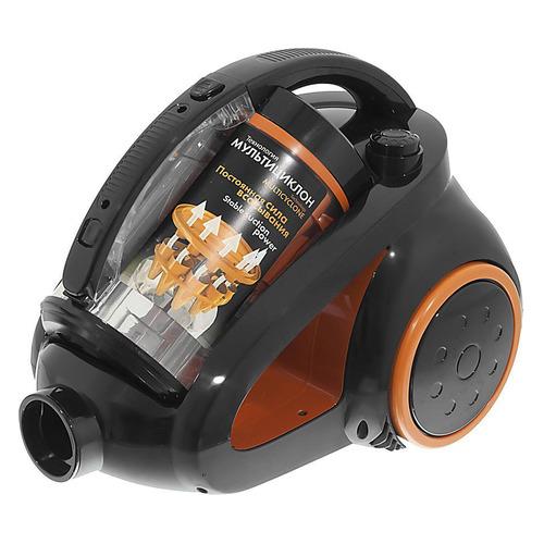все цены на Пылесос SCARLETT IS-580, 1800Вт, черный/оранжевый онлайн