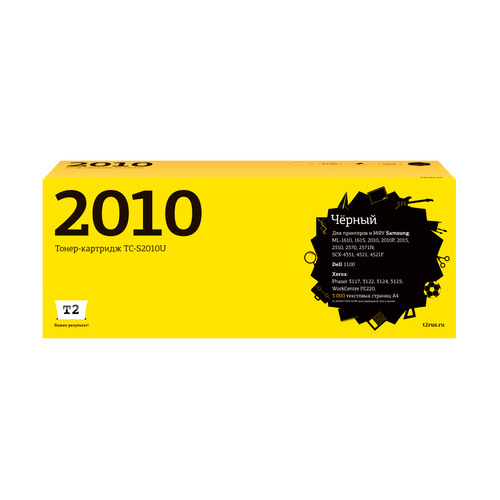 Картридж T2 ML-2010D3, черный [tc-s2010] цена в Москве и Питере