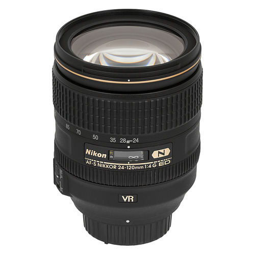 Фото - Объектив NIKON 24-120mm f/4 AF-S ED VR, Nikon F [jaa811da] объектив мс зенитар c 3 5 8 байонет canon
