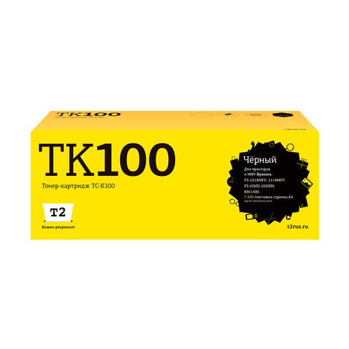 Картридж T2 TK-100, черный / TC-K100