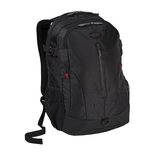 Рюкзак 16 TARGUS TSB251EU, черный/красный рюкзак для ноутбука targus tsb251eu до 15 16 чёрный нейлон 48x33x10 см