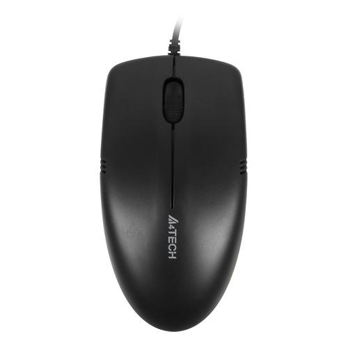 Мышь A4 V-Track Padless OP-530NU, оптическая, проводная, USB, черный мышь a4 v track padless n 770fx черный