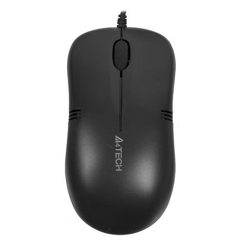 Мышь A4 V-Track Padless OP-560NU, оптическая, проводная, USB, черный мышь a4 v track padless n 770fx черный