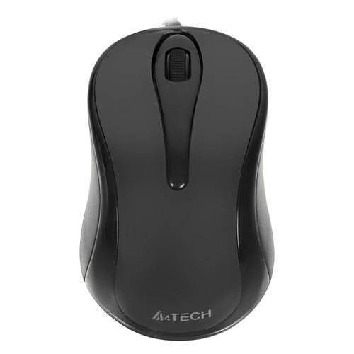 лучшая цена Мышь A4 V-Track Padless N-360-1, оптическая, проводная, USB, серый