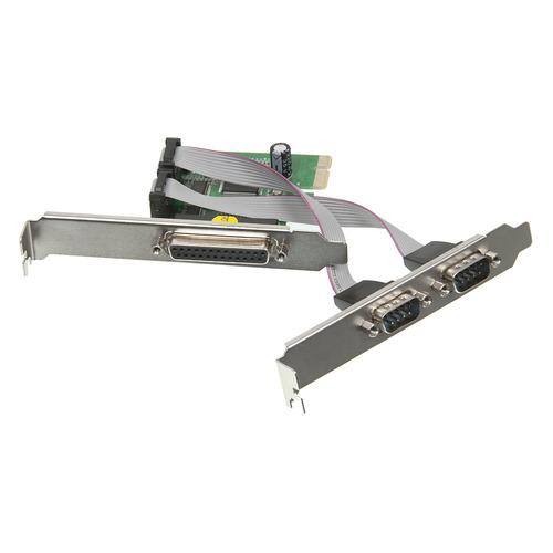 Контроллер PCI-E MS9901 1xLPT 2xCOM Bulk контроллер orient xwt pe2s1p pci e 2xcom 1lpt mcs9901cv ret