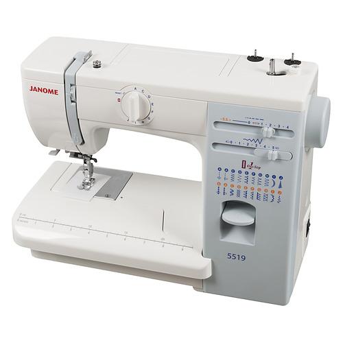 Швейная машина JANOME 5519 белый все цены