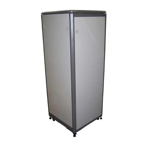 Шкаф коммутационный Lanmaster (TWT-CBE-42U-6X8) 42U 600x800мм пер.дв.стекл задн.дв.стал.лист 300кг с блок 2 х вентиляторов lanmaster twt cbe fan2 6 в крышу шкафа eco глубиной 600мм