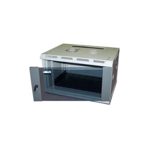 Шкаф коммутационный Lanmaster PRO (TWT-CBW2-12U-6X4) 12U 600x450мм пер.дв.стекл 60кг серый
