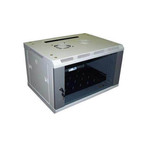 лучшая цена Шкаф коммутационный Lanmaster Pro (TWT-CBW2-6U-6X6 ) 6U 600x600мм пер.дв.стекл 60кг серый