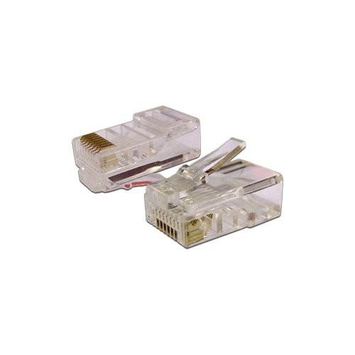 цена на Коннектор Lanmaster (TWT-PL45-8P8C) UTP кат.5e RJ45 (упак.:100шт)