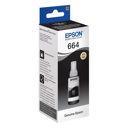 цена на Картридж EPSON T6641, черный [c13t66414a]