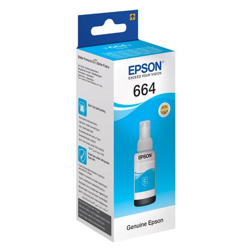 цена на Картридж EPSON T6642, голубой [c13t66424a]