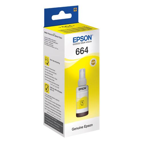 цена на Картридж EPSON T6644, желтый [c13t66444a]