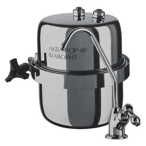цена на Водоочиститель АКВАФОР B150 Фаворит, серебристый