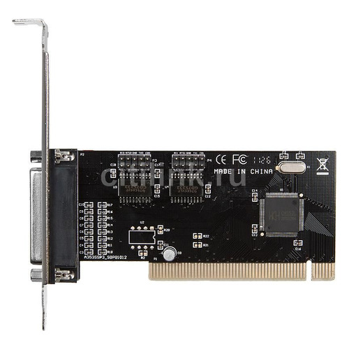 Контроллер PCI WCH353 1xLPT 2xCOM Bulk контроллер orient xwt pe2s1p pci e 2xcom 1lpt mcs9901cv ret