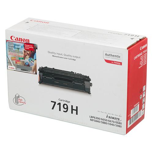 Картридж CANON 719H, черный [3480b002] картридж canon 719h черный [3480b002]