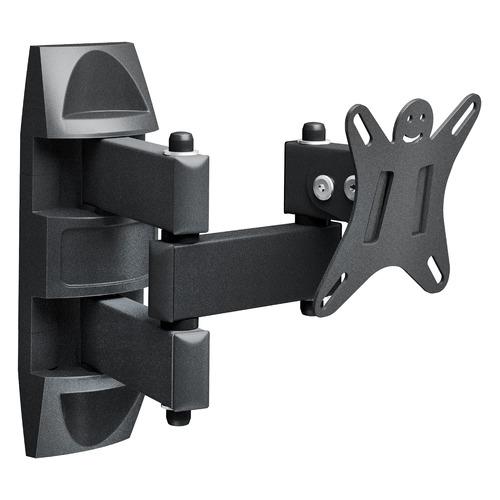 Фото - Кронштейн для телевизора HOLDER LCDS-5039, 10-26, настенный, поворот и наклон кронштейн для телевизора holder lcds 5026 26 47 настенный поворот и наклон
