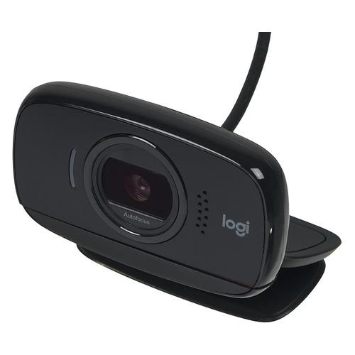 Web-камера LOGITECH HD Webcam B525, черный [960-000842] камера web logitech pro stream c922 usb2 0 с микрофоном 960 001088 473299 черный