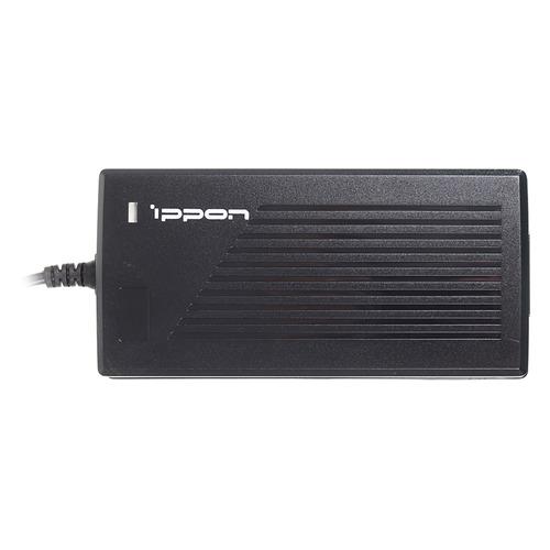Адаптер питания IPPON E120, 120Вт, Универсальный (M1-M8), черный адаптер питания ippon e70 70вт черный