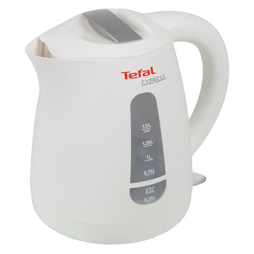 Фото - Чайник электрический Tefal KO29913E, 2200Вт, белый чайник tefal express plastic ko29913e