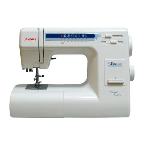 Швейная машина JANOME My Excel 1221 белый