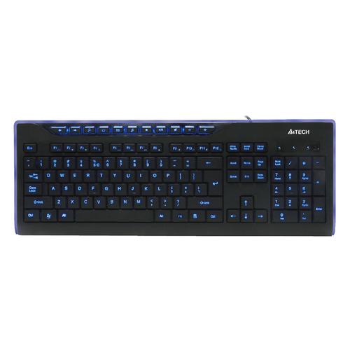 лучшая цена Клавиатура A4 KD-800L, USB, черный