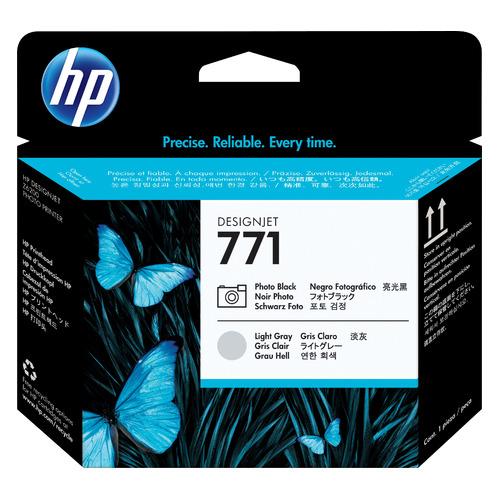Печатающая головка HP 771 CE020A черный/серый для HP DJ Z6200 hp 15 da0149ur серый