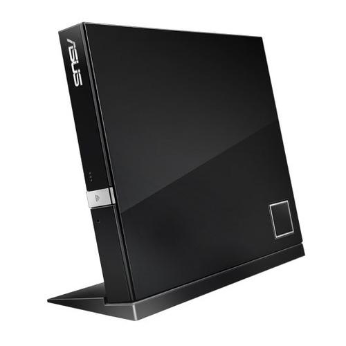 Оптический привод Blu-Ray ASUS SBW-06D2X-U/BLK/G/AS, внешний, USB, черный, Ret цена и фото