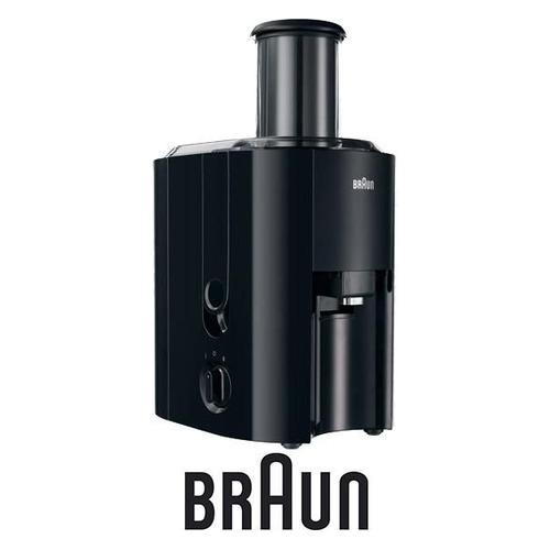 цена на Соковыжималка BRAUN J 300, центробежная, черный [0x81300159]