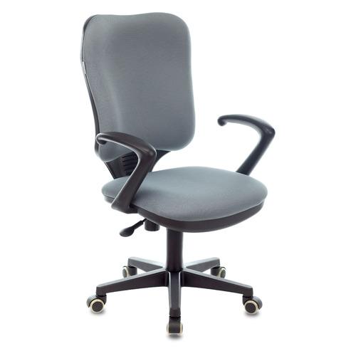 Кресло БЮРОКРАТ Ch-540AXSN, на колесиках, ткань, серый [ch-540axsn/26-25] кресло бюрократ ch 540axsn low на колесиках ткань серый [ch 540axsn low 26 25]