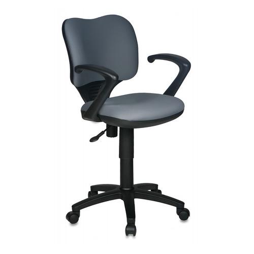 цена на Кресло БЮРОКРАТ Ch-540AXSN-Low, на колесиках, ткань, серый [ch-540axsn-low/26-25]