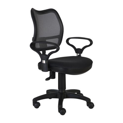Кресло БЮРОКРАТ Ch-799AXSN, на колесиках, ткань, черный [ch-799axsn/tw-11] кресло бюрократ ch 799axsn black спинка сетка черный сиденье черный 26 28