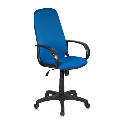 Кресло руководителя БЮРОКРАТ Ch-808AXSN, на колесиках, ткань, синий [ch-808axsn/tw-10] кресло руководителя бюрократ ch 808axsn на колесиках ткань темно серый [ch 808axsn g]