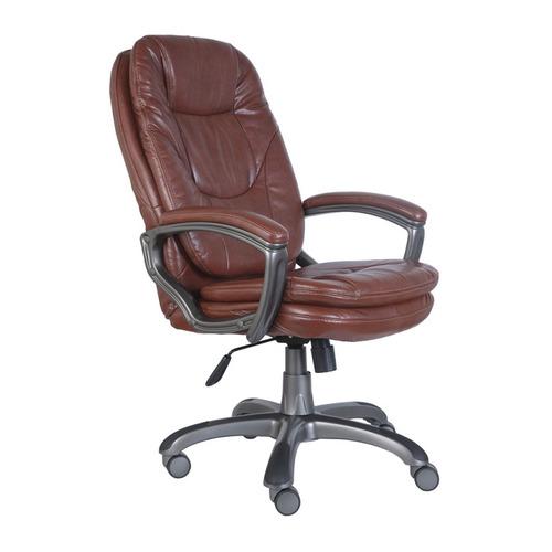 Кресло руководителя БЮРОКРАТ Ch-868AXSN, на колесиках, искусственная кожа, коричневый [ch-868axsn/brown] кресло руководителя бюрократ ch 868axsn на колесиках искусственная кожа коричневый [ch 868axsn brown]
