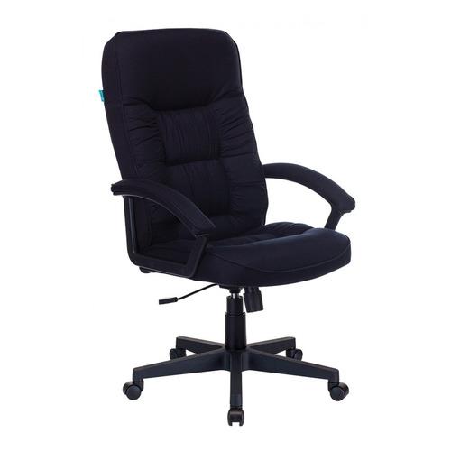 Кресло руководителя БЮРОКРАТ T-9908AXSN-Black, на колесиках, ткань, черный