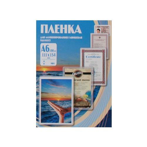 Пленка для ламинирования OFFICE KIT PLP111*154/80, 80мкм, 100шт., глянцевая, A6 anet a6 desktop 3d printer kit with metal acrylic frame