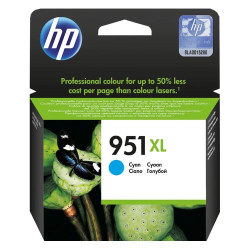 Фото - Картридж HP 951XL, голубой / CN046AE картридж hp cn046ae для hp oj pro 8100 8600 голубой