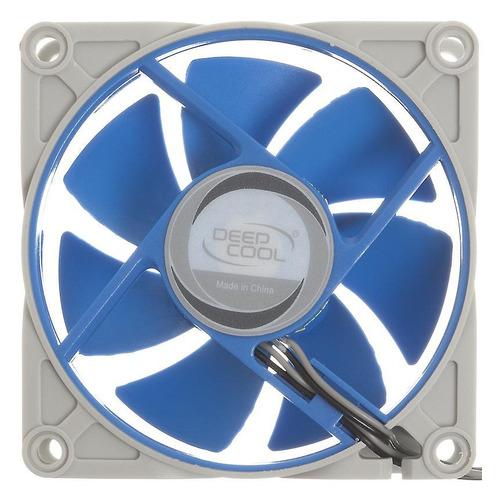 Вентилятор DEEPCOOL UF80, 80мм, Ret вентилятор deepcool xfan 80l b 80мм ret