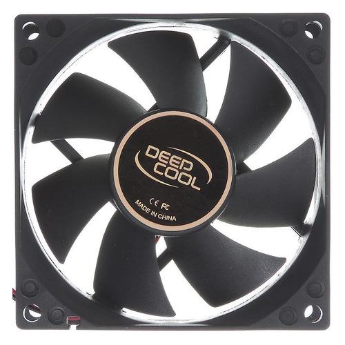 Вентилятор DEEPCOOL XFAN 80, 80мм, Ret вентилятор deepcool xfan 80l b 80мм ret