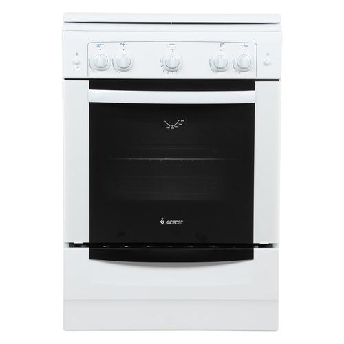 Газовая плита GEFEST ПГ 6100-01, газовая духовка, белый