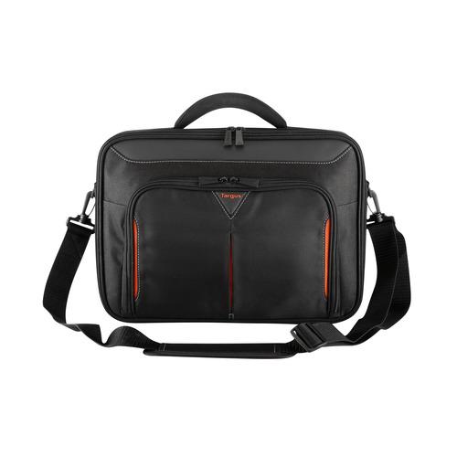 Сумка для ноутбука 15.6 TARGUS CN415EU-50, черный/красный