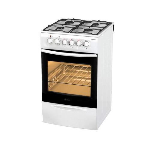 цена на Газовая плита DARINA F KM 341 304 W, электрическая духовка, белый