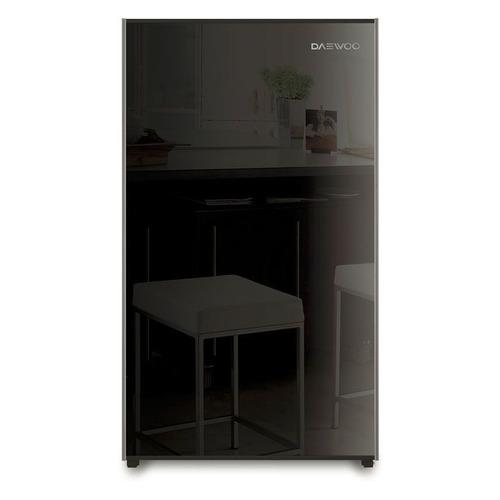 цена на Холодильник DAEWOO FN-15B2B, однокамерный, черный/стекло