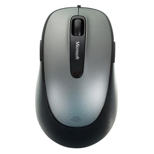 лучшая цена Мышь MICROSOFT Comfort 4500, оптическая, проводная, USB, черный [4eh-00002]