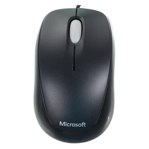 Мышь MICROSOFT Compact 500, оптическая, проводная, USB, черный [4hh-00002] цена и фото