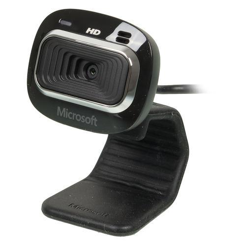 Web-камера MICROSOFT LifeCam HD-3000 for Business, черный [t4h-00004] камера web microsoft lifeсam studio for business usb2 0 с микрофоном 5wh 00002 черный