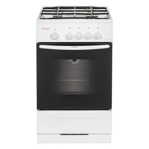 Газовая плита GEFEST ПГ 3200-08, газовая духовка, белый газовая плита gefest пг 3200 08 газовая духовка белый