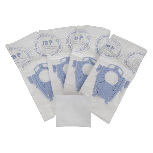 Пылесборники BOSCH BBZ41FP, трехслойные, 4 шт., для пылесосов BOSCH и SIEMENS, один микрофильтр пылесборники bosch bbz41fk универсальные 4 шт для пылесосов bosch и siemens один микрофильтр